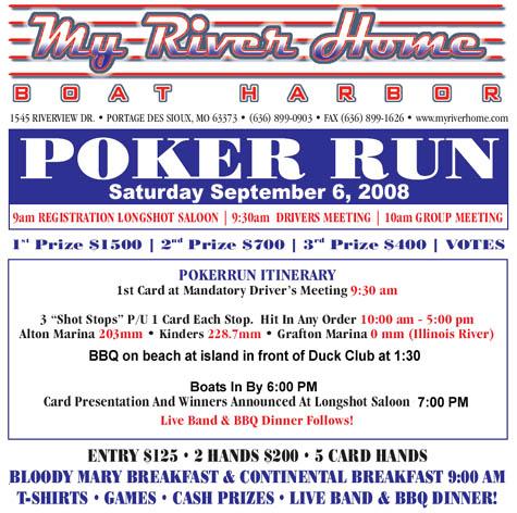 Lighthouse poker run