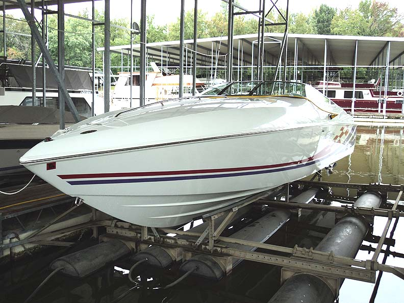 2000 Baja 302 Boss Performance Boat Twin 7.4L MPI big blocks (322 hrs.) w/ ...