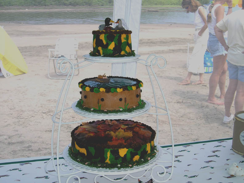 Duck Hunting Cake Decorating Kit : mossy oak wedding cakes - group picture, image by tag ...