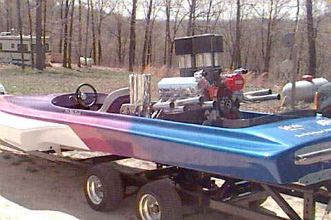 the drag boat that won the