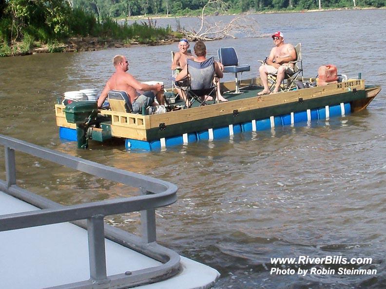 Home-made pontoon boats? - AR15 COM